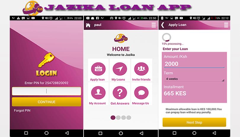 Jazika Mobile Loan App Image