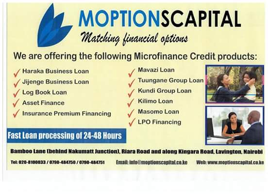 Moptions Capital Loans Image
