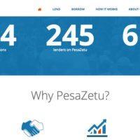 Pesa Zetu Peer to Peer Lending Platform Image